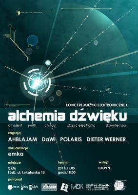 alchemia dzwieku - plakat